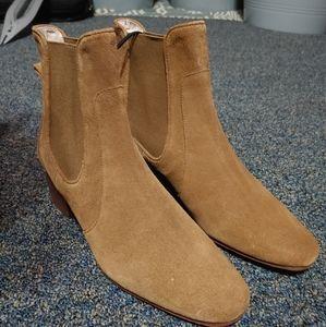 Brand New Zara Leather Boots